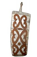Bouclier Asmat - Artistes de Papouasie