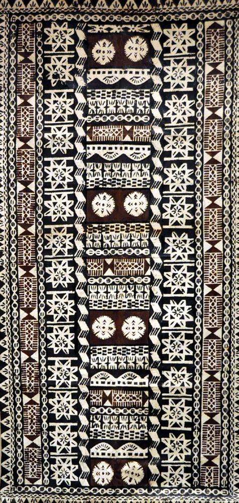 Tapa des iles fidji art premier art d 39 oc anie fidji for Art premier