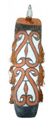 Grand Bouclier Asmat - Artistes de Papouasie