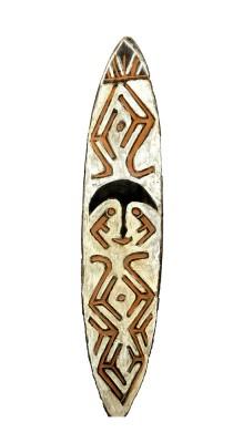 Planche votive - Artistes de Papouasie