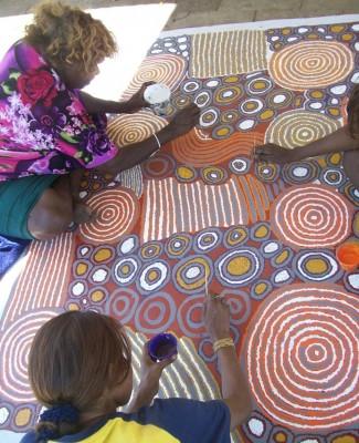 Peintures d'Australie -