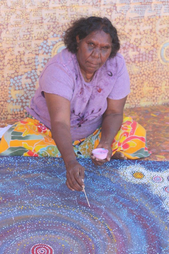 Entretien Alma Nungarrayi - Peintre Aborigène d'Australie