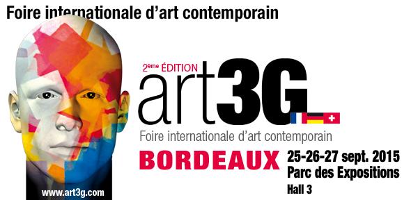 Trib'Art à Bordeaux pour le salon Art3G