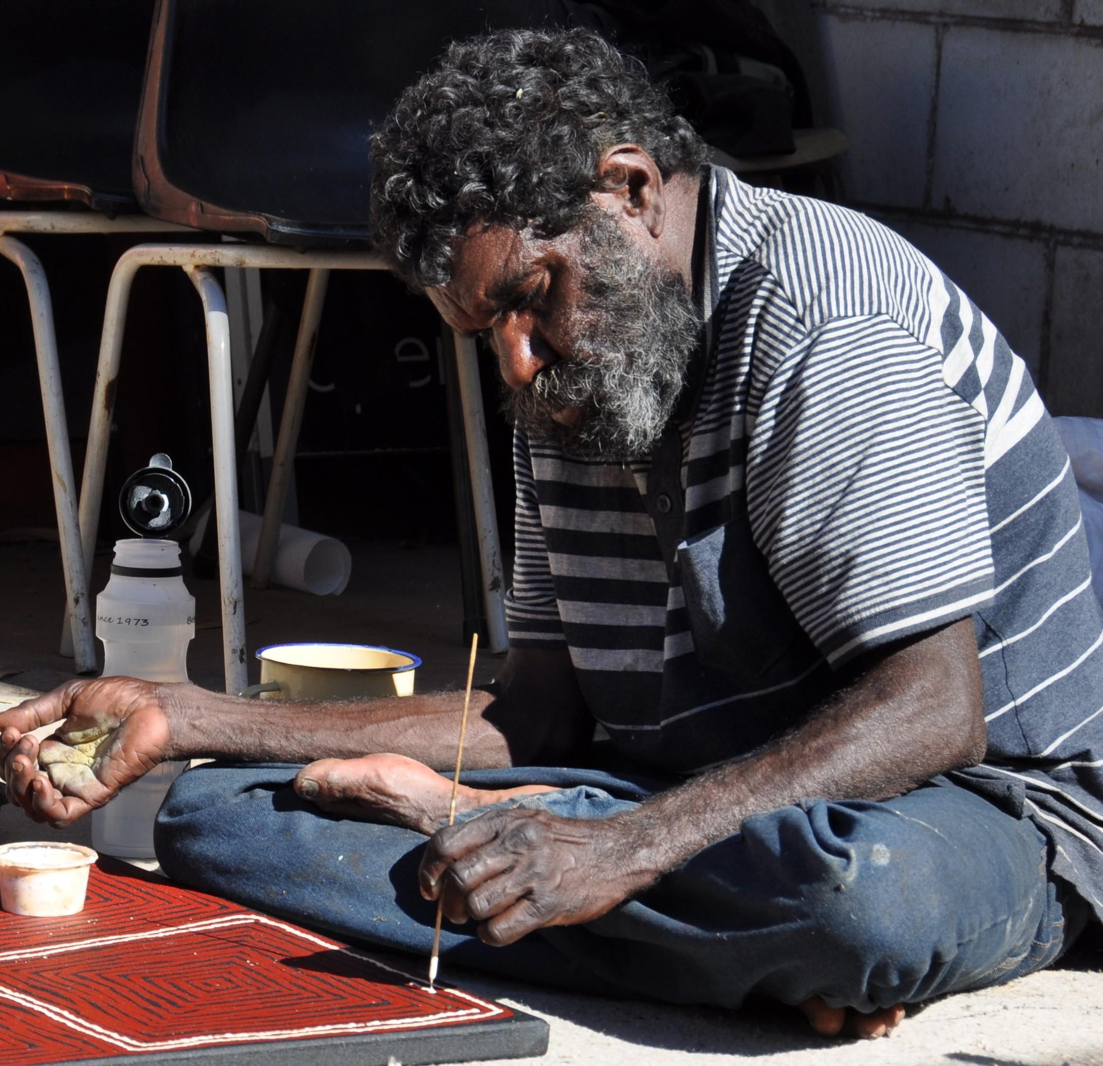 Artistes Aborigènes : Thomas
