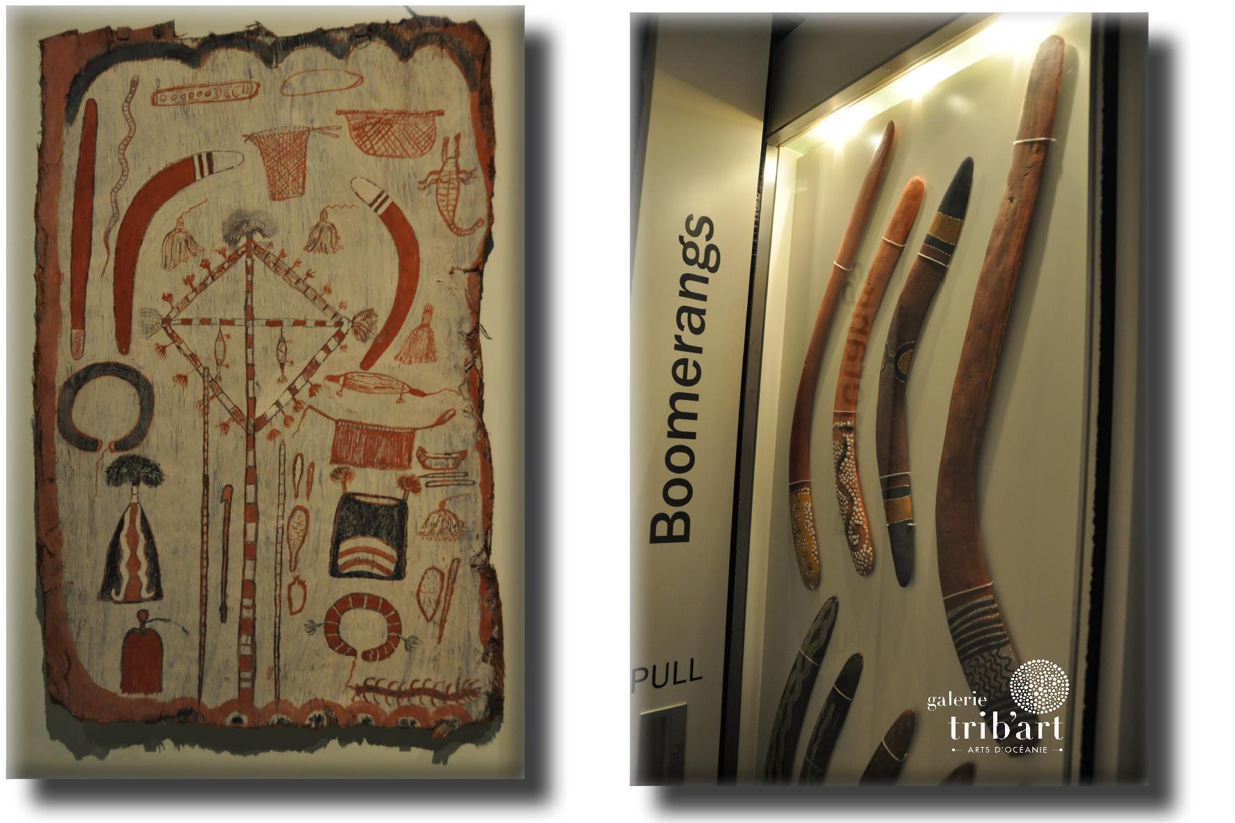 Musee Adelaïde boomerangs