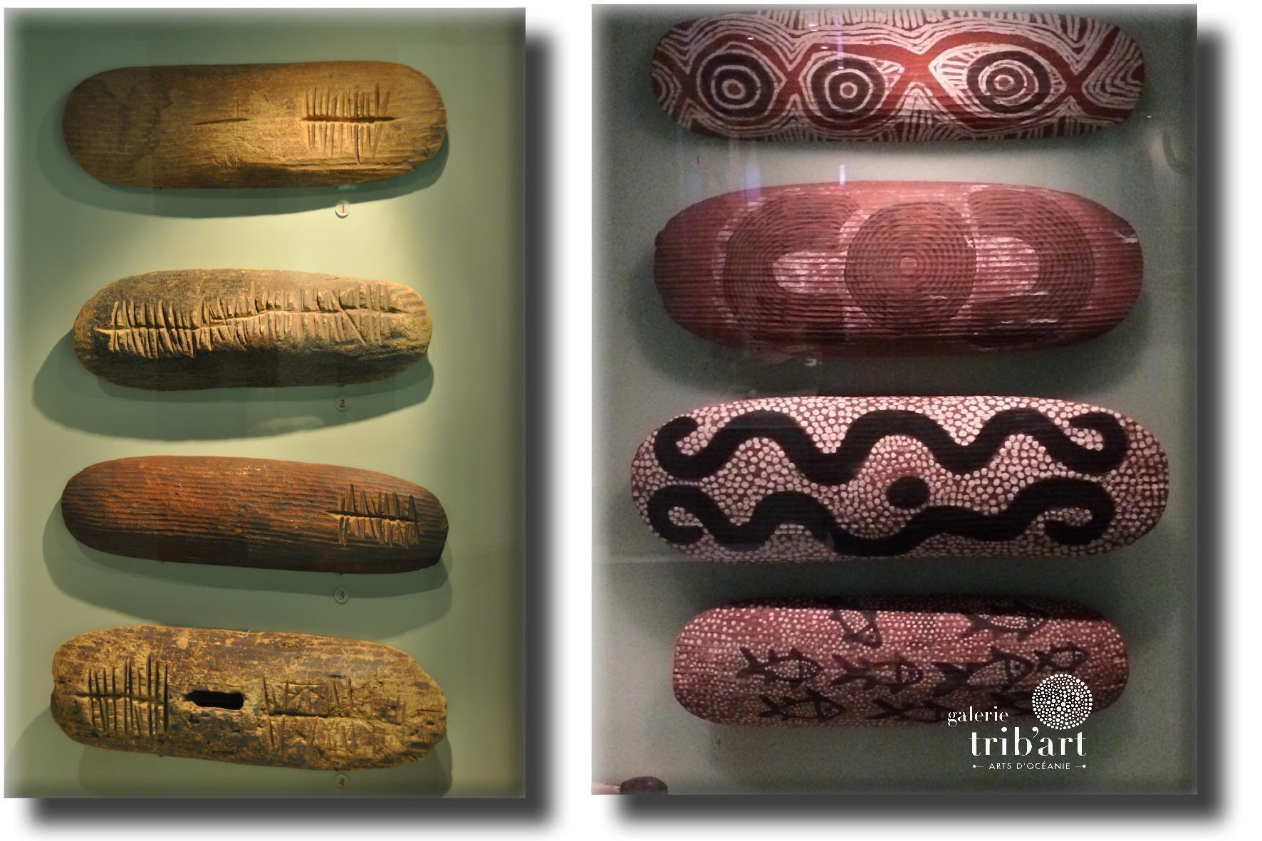 Musee Adelaïde boucliers australiens