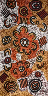 Women dreaming - Philippa Guguman Nungurrayi