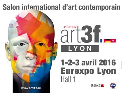 Trib'art au Salon Art3f à Lyon avril 2016 -