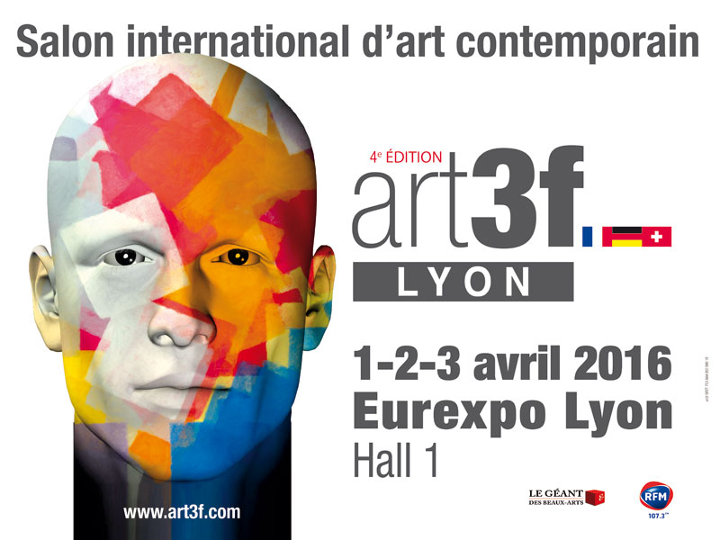 Trib 39 art au salon art3f lyon avril 2016 for Salon lyon 2016