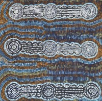 Native Seed Dreaming - Molly Napurrurla Martin