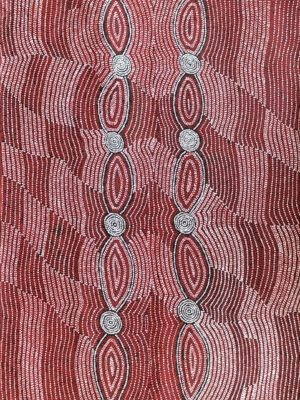 Mina Mina Jukurrpa - Helen Nungarrayi Reed
