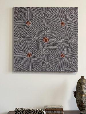 Art Aborigène – Kathy Bagot Napangardi - Kathy Bagot Napangardi