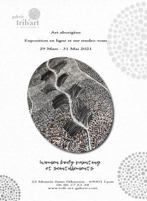 Women body painting et scintillements dans l'art aborigène d'Australie -